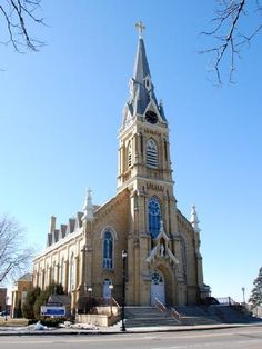 Church of St Michael in St. Michael, MN. Move toward cluster with St. Albert, Albertville.