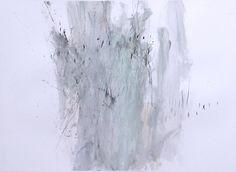"""sound drawing"" – an improvisation with violinist Marieke Berendsen  pencil, graphite, charcoal, ink and acrylic on 224 g/m2 Canson paper 55 x 75 cm 2014 HALLVEIG AGUSTSDOTTIR http://hallveigagustsdottir.com/"