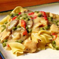Chicken a la King I Allrecipes.com. Easy and elegant chicken dish.