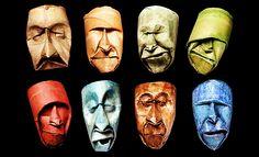 Rostos engraçados em rolos de papel higiênico usados | Ideia Quente