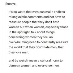 A little #feministfriday #tumblrtruths action for you