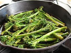 Lemony Broccolini recipe from Ree Drummond via Food Network