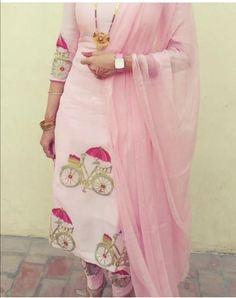 Bridal Suits Punjabi, Punjabi Suits Party Wear, Party Wear Indian Dresses, Punjabi Salwar Suits, Designer Party Wear Dresses, Dress Indian Style, Indian Wear, Indian Outfits, Embroidery Suits Punjabi