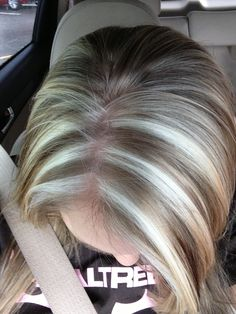 Highlights Chunky Bright Blonde Red Brown My Style