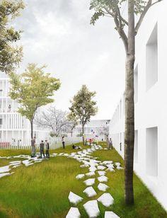 landscape architecture portfolio 2015 v1 3 for view outdoor spaces pinterest. Black Bedroom Furniture Sets. Home Design Ideas