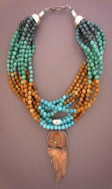 Unique ethnic jewelry and tribal jewelry -- Dorje Designs Tribal Jewelry, Turquoise Jewelry, Boho Jewelry, Jewelry Art, Beaded Jewelry, Handmade Jewelry, Jewelry Necklaces, Beaded Necklace, Jewelry Design