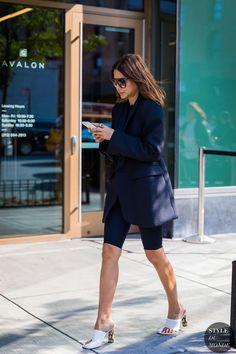 New York SS 2018 Street Style: Christine Centenera