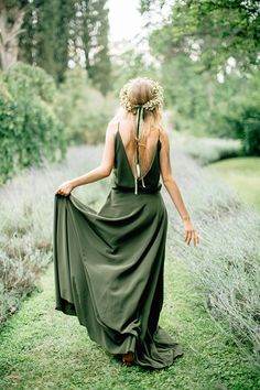 Cheap Bohemian Olive Green Chiffon Country Bridesmaid Dresses, New Cheap Sexy Spaghetti Backless Long Maid Of Honor Gowns Custom Olive Green Bridesmaid Dresses, Country Bridesmaid Dresses, Green Wedding Dresses, Green Bridesmaids, Bridesmaid Color, Bohemian Bridesmaid, Bridesmaid Gowns, Colored Wedding Dress, Wedding Colors
