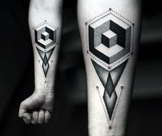 Guys Abstract Tattoo Design