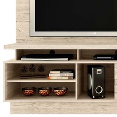 Estante Home Theater Vicente - Madetec R... - Submarino.com