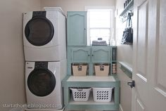 make a house a home Love this laundry room!