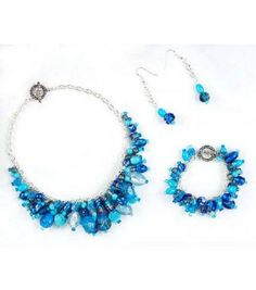 Ocean Colors Jewelry Set