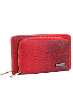 """This wallet includes a built-in power charger and includes cables to fit most phones. Includes two zippered compartments plus an inside zippered compartment and slots for credit cards. Fits most phones; excludes iPhone 6 Plus and Samsung Note.  Measures: 8"""" x 4"""" x 2""""  Charging Power Wallet by Mad Style. Bags - Wallets & Wristlets Virginia"""