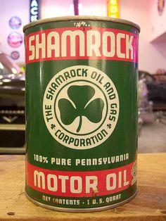Shamrock Motor Oil - via Colby Thueson