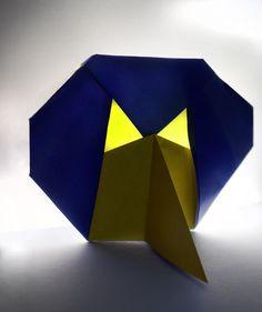 origami mask, original model by Tadeáš alias paper monkey