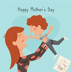 I Love You Mom, Mom Day, Happy Mothers Day, Movie Posters, Art, Cartoon, Art Background, Love You Mum, Film Poster