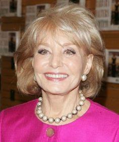 Barbara Walters born 1929. Broadcast journalist and T.V. host.