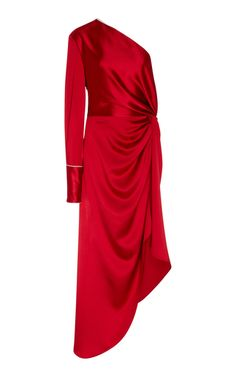 One Sleeve Pajama Gown by MONSE | Moda Operandi