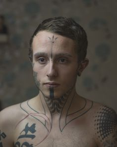 The photographer said there was no main reason for why people decided to get their faces tattooed.   Photographer Tries To Show The People Behind Their Facial Tattoos