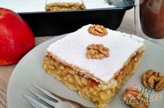 Jablečné řezy s vůni skořice | NejRecept.cz Vanilla Cake, French Toast, Food And Drink, Pie, Breakfast, Recipes, Cakes, Pastries, Torte