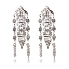 Latest Collection Of Juran Holographic Chainmail Earrings Shiny Metallic Drop Earring For Women Statement Jewelry Hanging Earrings Brincos Modern Techniques Earrings Back To Search Resultsjewelry & Accessories