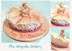 Ballerina cake by The Bespoke Bakery, Cambridge