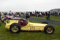 """1957 Epperly/Offenhauser Powered (#9) (Restored) """"Belond Exhaust Special"""" Won the Indy 500 in 1957 with Sam Hanks and 1958 with Jimmy Bryan, Making it the Only Car in the History of Indianapolis to Win at the Brickyard with Different Drivers"""