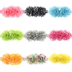 $0.85 (Buy here: https://alitems.com/g/1e8d114494ebda23ff8b16525dc3e8/?i=5&ulp=https%3A%2F%2Fwww.aliexpress.com%2Fitem%2FGirls-handmade-Chiffon-flower-baby-Elastic-hair-band-Stunning-contemporary-headband%2F32785918702.html ) Girls Elastic hair band handmade Chiffon flower headpiece for baby photography wedding for just $0.85