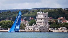 Spectacular Volvo Ocean Race in Lisbon  #Portugal #sport #sea #view #Lisbon #Belem #sports #racing #team #adventure #travel #holidays #portuguese #Lisboa #travel #vacations
