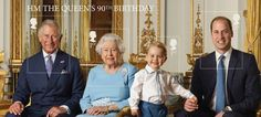 3 New Portraits of Queen Elizabeth Released for Her 90th... #QueenElizabeth: 3 New Portraits of Queen Elizabeth Released… #QueenElizabeth