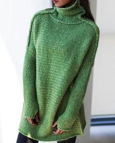 SELX Men Plus Size Plus Size Stylish Half Turtleneck Solid Wool Tops Pullover Knit Sweaters