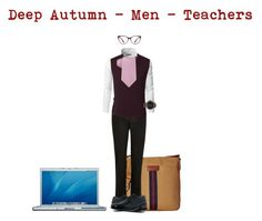 Deep Autumn - Men - Ode to Teachers by samib2500 on Polyvore featuring polyvore Doublju River Island Lands' End Alfani 21 Men Tommy Hilfiger Michael Kors Giorgio Armani MAC Cosmetics men's fashion menswear clothing