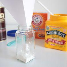 the basic recipe for dry shampoo