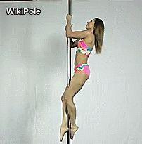 Split on pole/Beginner https://www.youtube.com/watch?v=fOyuE0gzzgE #WikiPole #poledance