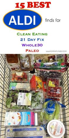 15 best aldi must haves for clean eating 21 day fix or paleo diets # cleaneating Aldi Meal Plan, 21 Day Fix Meal Plan, Diet Meal Plans, Meal Prep, Whole 30 Meal Plan, Tater Tots, Clean Eating Diet, Healthy Eating Habits, Healthy Living