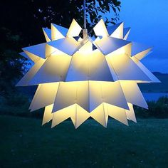 "Extremely rare danish Nordisk Solar ""star light"" by Anton Fogh Holm and Alfred J Andersen"