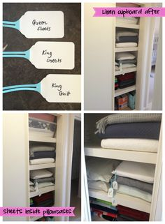 How to organise your linen cupboard – I did it!