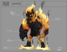 Randall game concept art and character design on Behance