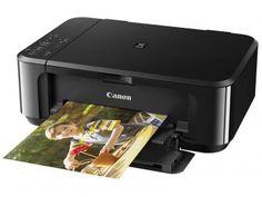 Multifuncional Canon Pixma MG3610 - Jato de Tinta Colorida USB e Wi-Fi