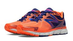 New Balance 1080v5, Bold Citrus with Spectrum Blue