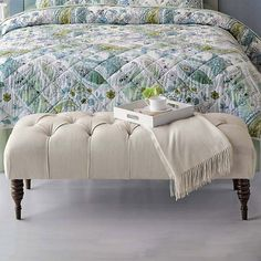 Foot of the Bed - Desmond Tufted Bench