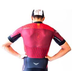 Loving the colours on this cycling jersey from Weoutdoor