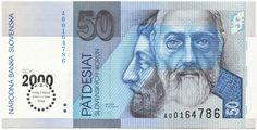 50 Slovenskych Korún 2000 (Millennium)