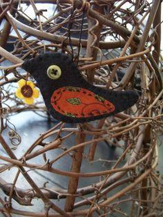 bird ornament.