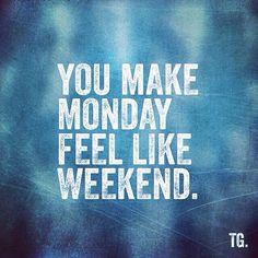 Tag someone who gets you through those moody mondays! #monday #weekend #work #blue #tired #medicine #tgif #missyou #love #inlove #together #you #week #day #trabajar #travailler #lundi #lunes #instamonday #instalove #coffee #coffeebreak #breakfast #break #boyfriend #amor #amour #train #traffic #thomasgoyvaerts
