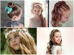 Flower girl hairstyles must be sweet and lovely. Take a closer look at our gallery and choose the best Flower Girl Hairstyles. Cute Girls Hairstyles, Princess Hairstyles, Flower Girl Hairstyles, Easy Hairstyles, Bubble Ponytail, Twist Ponytail, Beautiful Hairstyle For Girl, Beautiful Hairstyles, Medium Hair Styles