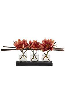 John-Richard Collection Triple Lotus Faux Floral - Neiman Marcus