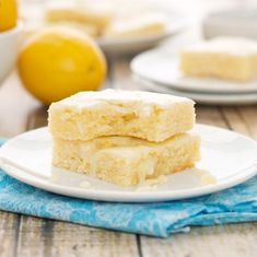 Lemonies {Lemon Brownies}