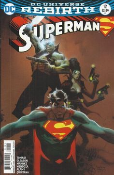 DC Superman Universe Rebirth comic issue 12 Limited variant