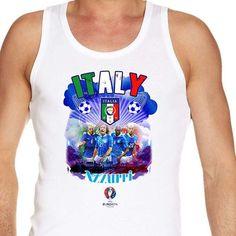 #Euro2016 #ITALY Azzurri #LuigiRiva #DanieleDeRossi #GianluigiBuffon #Buffon #vest #tanktop